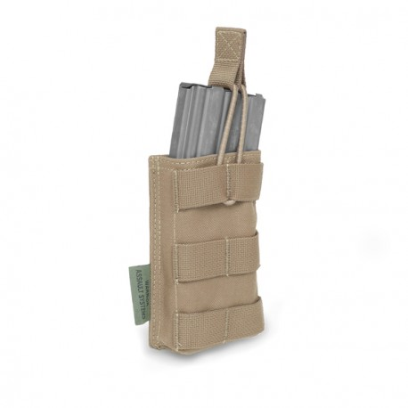 Single MOLLE Open M4 5.56mm - Coyote Tan
