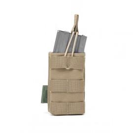 Single MOLLE Open M4 5.56mm - Coyote Tan