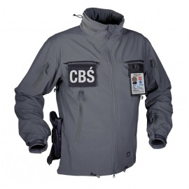 Chaqueta Helikon-Tex COUGAR QSA + HID - Soft Shell - Shadow Grey
