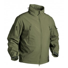 Chaqueta Helikon-Tex GUNFIGHTER - Shark Skin Windblocker - Olive Green