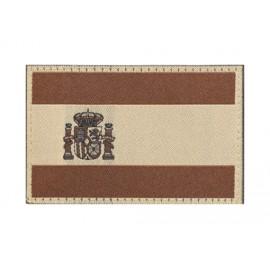 Spain Flag Patch Desert