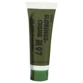 Pintura facial en crema verde