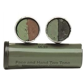 Pintura facial en barra negra/verde