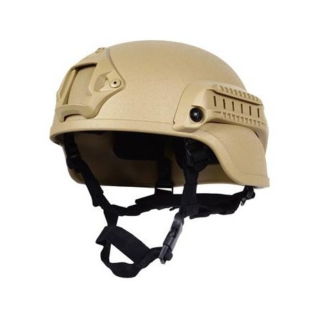 Nexus ACH M1 Helmet internal pads, with rails and Shroud Tan