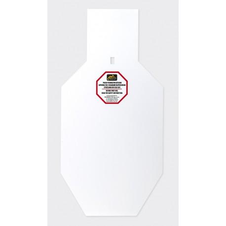 SRT TORSO Target - Hardox 600 Steel - White