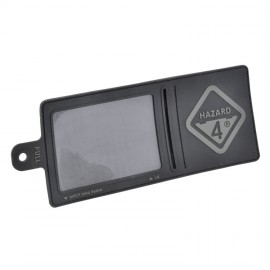 Hazard 4 3D Large Velcro I.D. Holder Black
