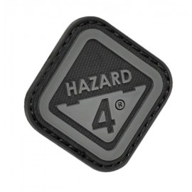 Morale Patch Diamond Shaped Velcro Hazard 4 Logo black