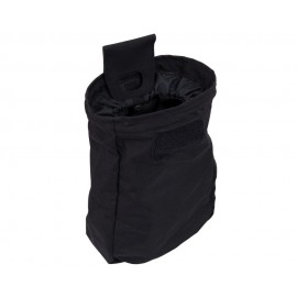 Templars Gear Dump Bag Pouch Long - Black