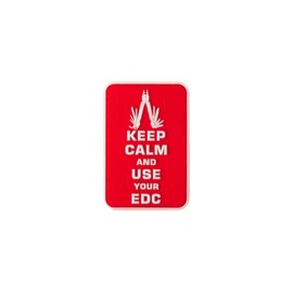 Keep Calm EDC Rubber Patch Color
