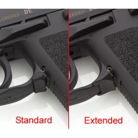 Palanca de retención del cargador extendida para USP