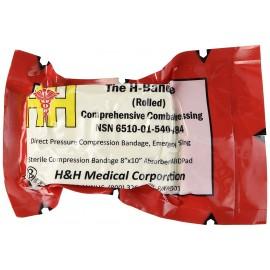 H&H H-Bandage Compression Dressing Rolled