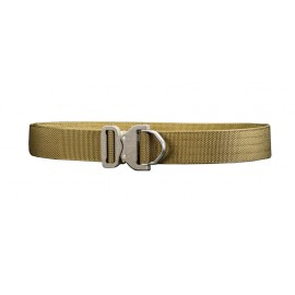 Bayonet Tactical Belt 45mm THIRDLINE rigid BLACK buckle Cobra ANSI D-RING 18kN Coyote Brown