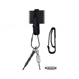 Zak Tool Soporte de llaves/Casco/silbato reforzado
