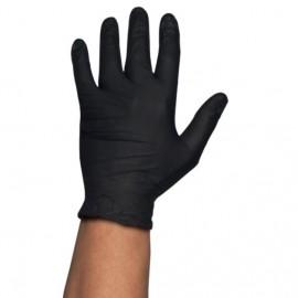 Caja Guantes desechables Nitrilo G.Touch HQ Negro 6.0Gr 100 uds