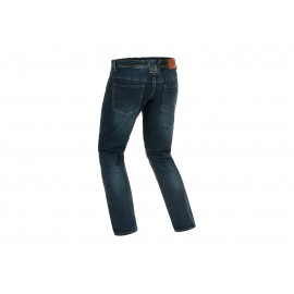 Blue Denim Tactical Flex Jeans Midnight Washed