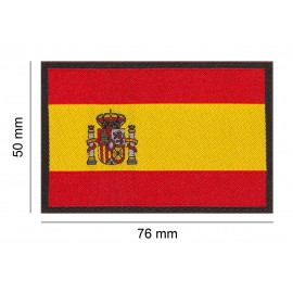 Spain Flag Patch Desert