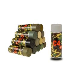 C4 Mil Grade Color Spray RAL 7030