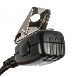 Micro-auricular para walkie TETRA, TETRAPOL, MATRA, EADS,
