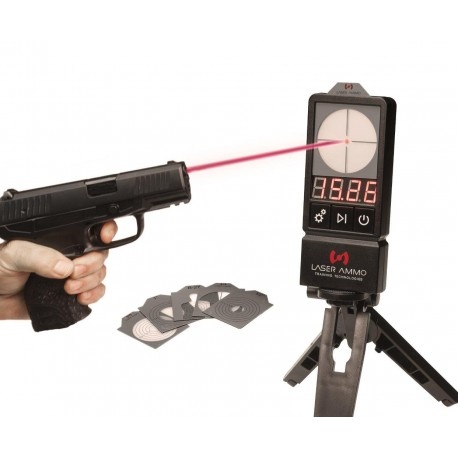 LaserPET™ II + SureStrike 9mm cartridge Red Laser