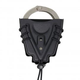 Wilder Tactical Universal Handcuff Holder Black Molle-Lok