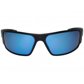 MAGNUM POLARIZED Black / Smoked w/ Blue Mirror Polarized