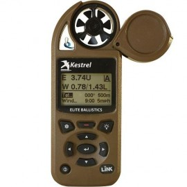 Anemómetro Kestrel 5700 Elite Weather Meter con Applied Ballistics y Link Bluetooth Coyote