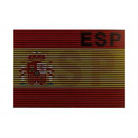 Claw Gear Parche IR bandera de España Roja y Gualda
