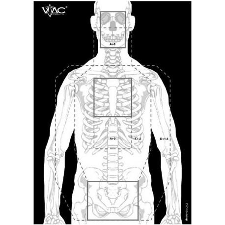 VTAC Double Sided Target (Pack de 50)