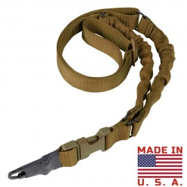 CONDOR ADDER DUAL BUNGEE ONE POINT SLING COYOTE
