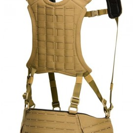TEMPLARS GEAR 6 Point H-Harness Coyote