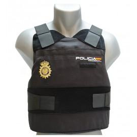 Chaleco Antibalas NIJ IIIA + Anticuchillo KR1-SP1 Policía Nacional