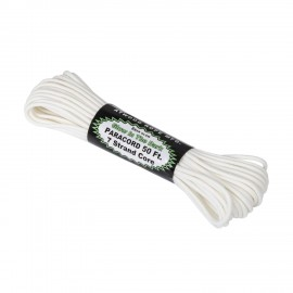 550 Paracord Glow In The Dark (50ft) - White