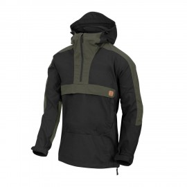 Helikon-Tex WOODSMAN Anorak Jacket Black / Taiga Green
