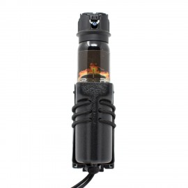 Wilder Tactical Flashlight/Pepper Spray Holder Black Safariland 744BL