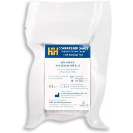 H&H Fluff Bandage Roll Compressed Gauze