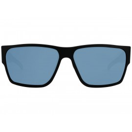 Gatorz Matte Black / Smoke Polarized w/ Blue Mirror