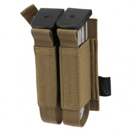Double Pistol Magazine Insert - Polyester Coyote