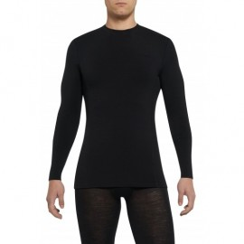 Thermowave Camiseta Merino Artic Negra