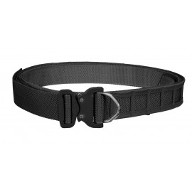 Bayonet 45mm ASSAULT belt rigid double layer with molle cels BLACK