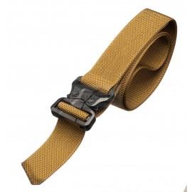 Bayonet 45mm STEALTH COMBAT belt medium rigid COYOTE buckle Cobra 9kN
