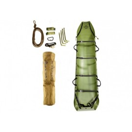 SKEDCO Sked Basic Rescue System,Cobra Buckle version Camo Green