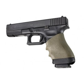 Hogue Handall Full Size Grip Sleeve Glock OD Green