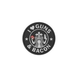 Guns and Bacon Rubber Patch SWAT