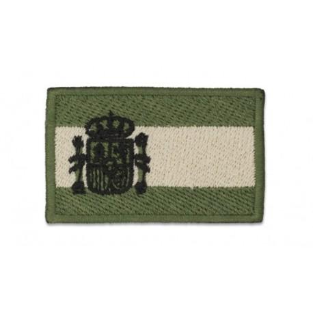 Parche bandera de España 5.8x3.5 cm árida