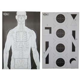 VTAC Double Sided Target (Pack de 25)