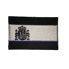 Parche Bordado Bandera Española 75x50mm - The Thin Blue Line