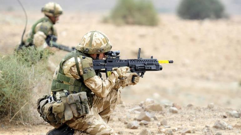 Lo último en ropa militar