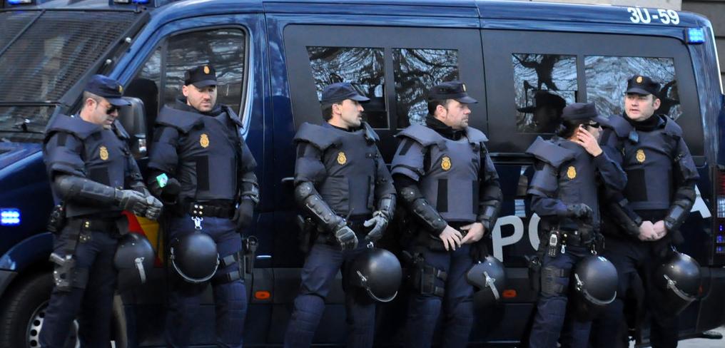 material policial españa