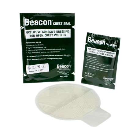 equipamiento medico tactico beacon chest seal