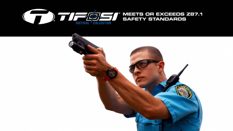 Las mejores gafas tácticas con Tifosi Tactical